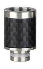 510 Stainless Steel Hat Carbon Fiber Drip Tip