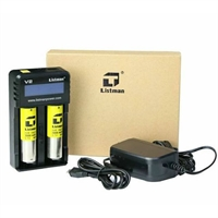Listman V2 3A 2 Batteries Charger