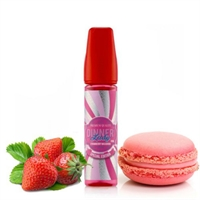 Dinner Lady Summer Holidays Strawberry Macaroon