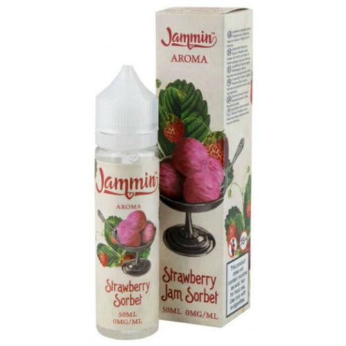 Jammin Mix And Vape Strawberry Jam Sorbet