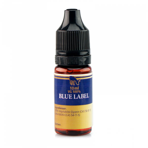 Pink Mule Nicotine Booster Blue Label VG 10ml 20mg